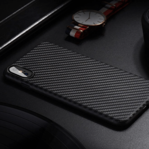 Slim Fit Premium Carbon Shield iPhone X TPU telefontok